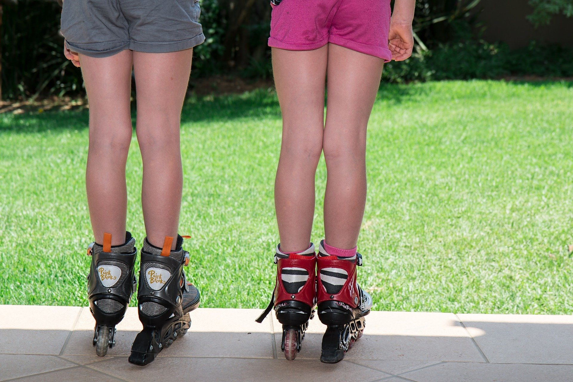 A story of roller blades, missing teeth, and lies.