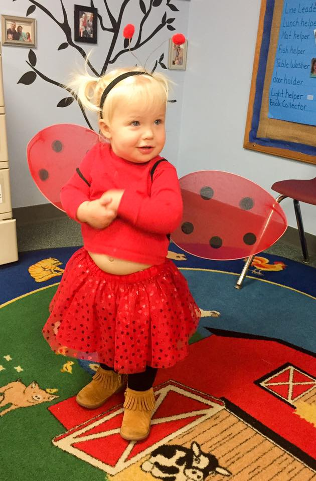 Ladybug Kids Halloween Costume no-sew
