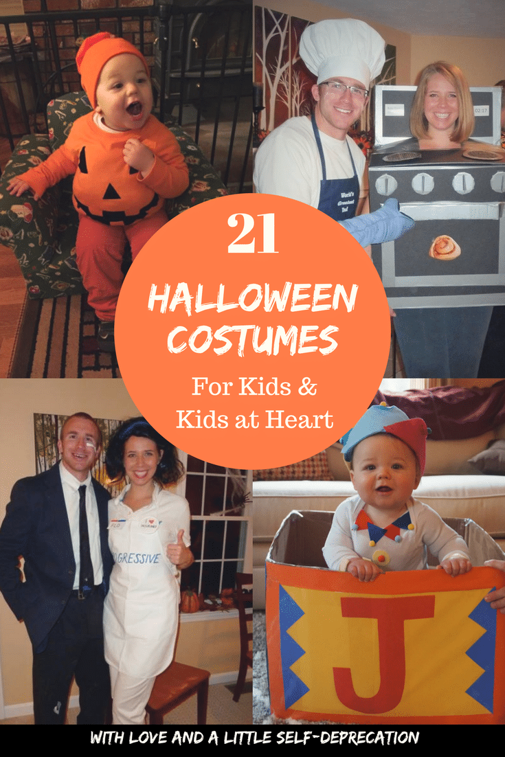 21 No-Sew Halloween Costumes for Kids & Kids at Heart