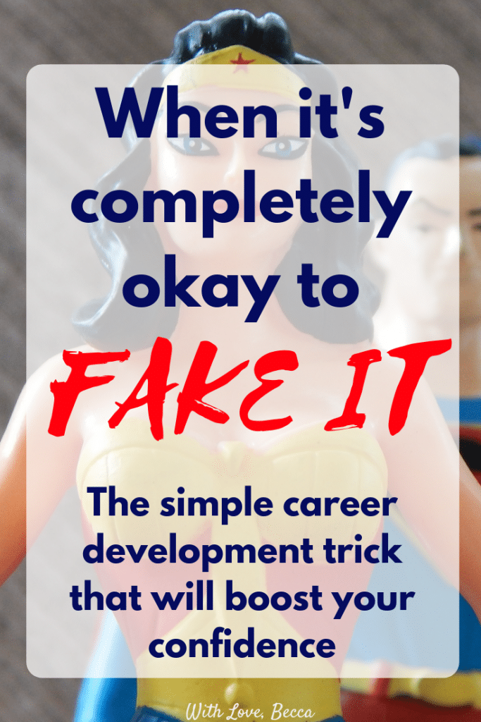Overcoming impostor syndrome - fake it till you become it! A simple tip from Harvard professor Amy Cuddy that can boost your confidence and change your life.