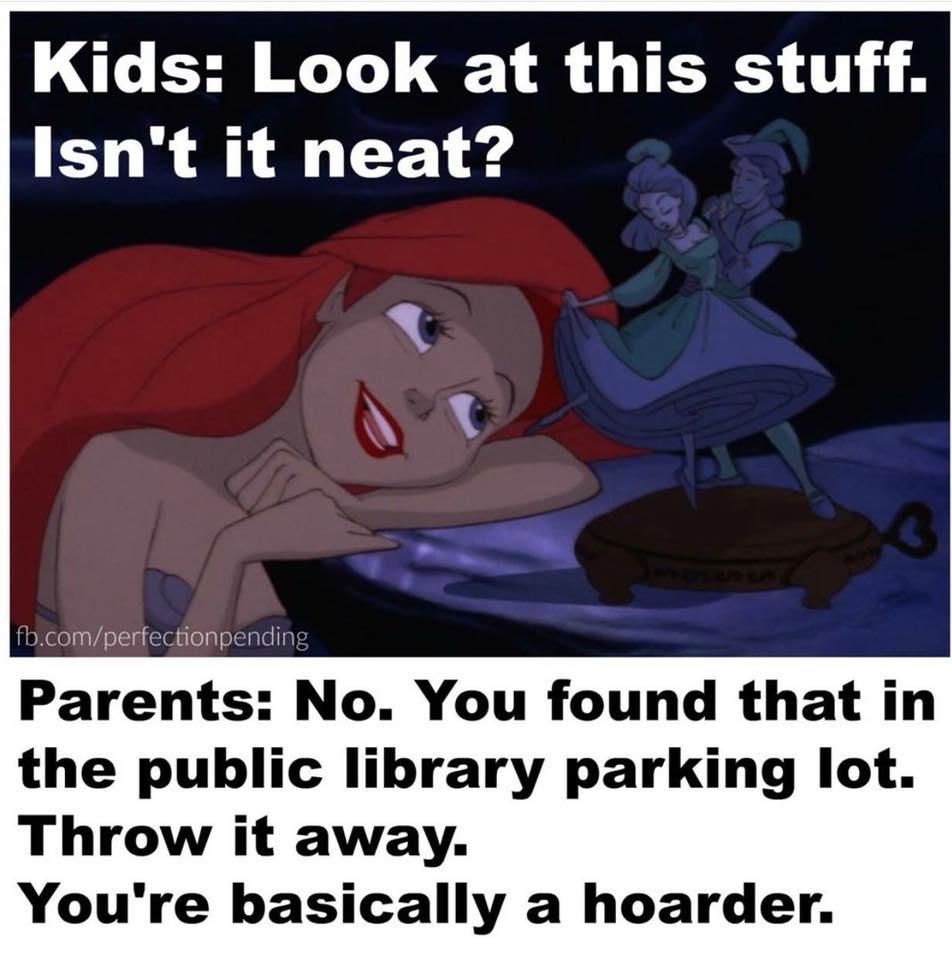 Little Mermaid parenting meme. Funny 90's kid memes