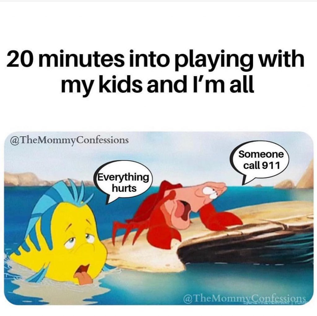 Little Mermaid playing with kids meme. Funny 90's kid memes.