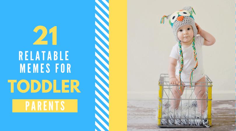 Toddler in basket. Retalable toddler memes.