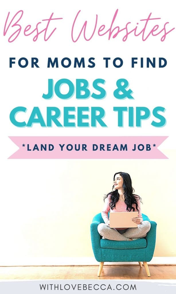Best websites for moms to find jobs and career tips