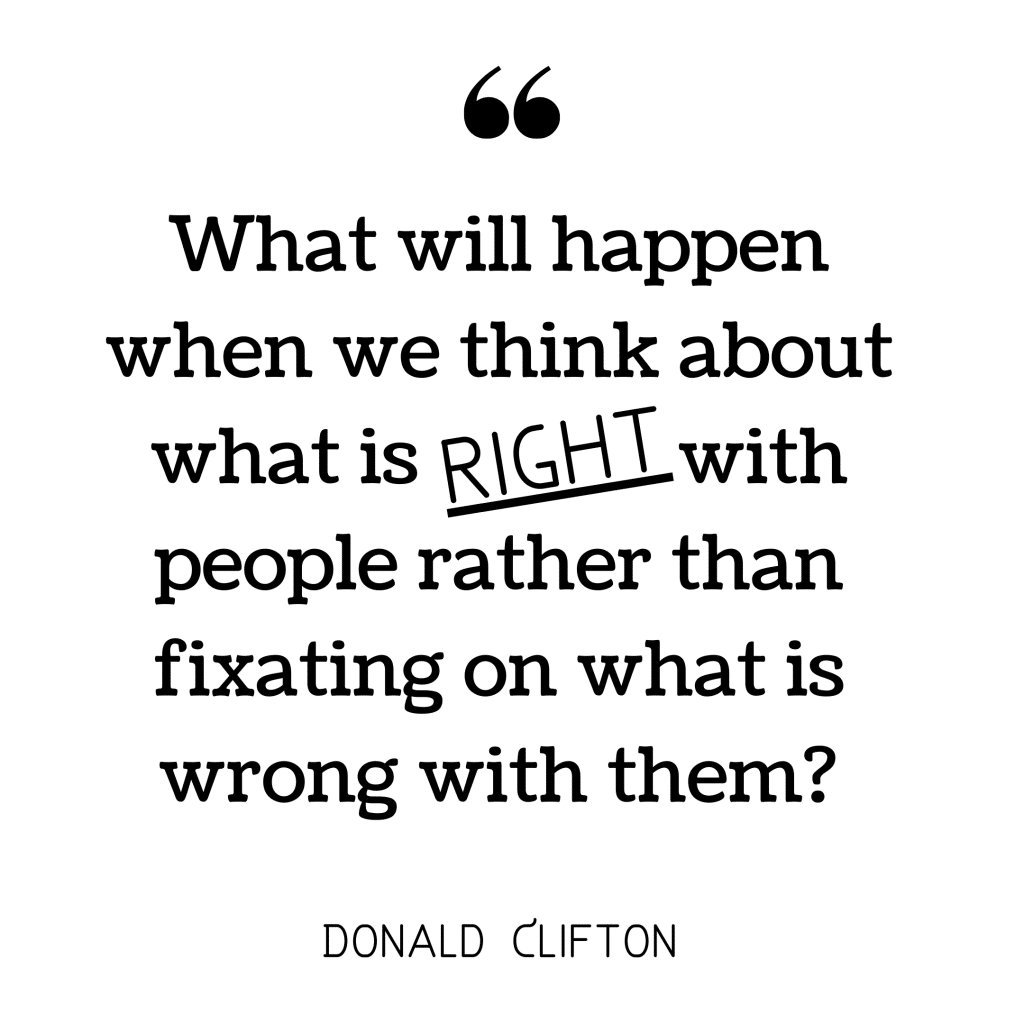 Donald Clifton quote