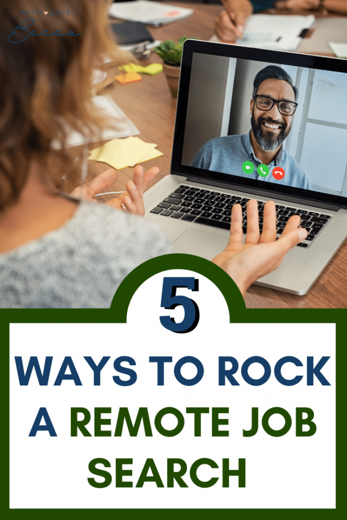 5 Ways to Rock a Remote Job Search