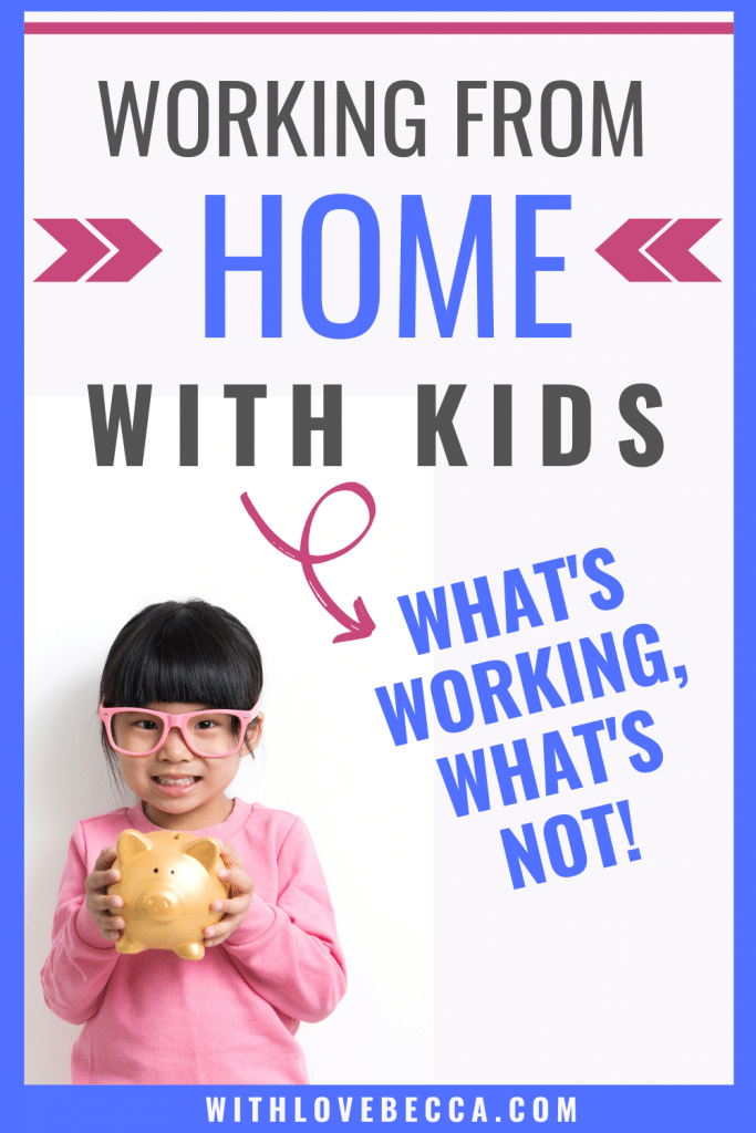 Working from home with kids: What's working, what's not
