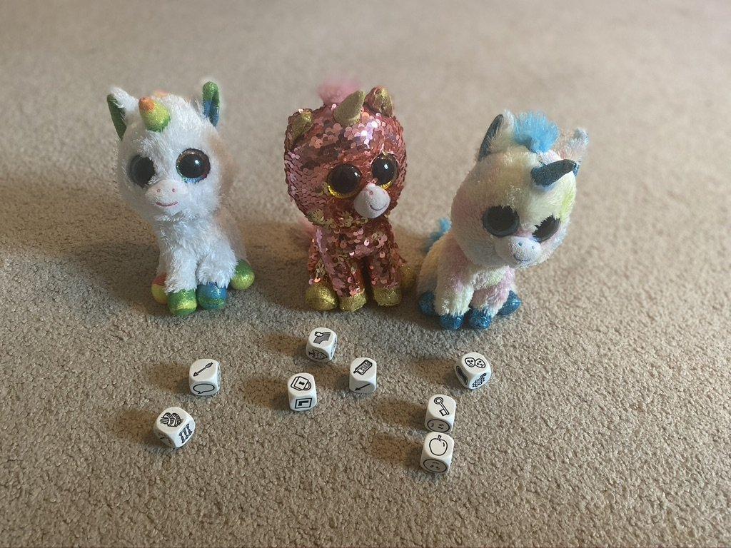 Story Cubes and Unicorns