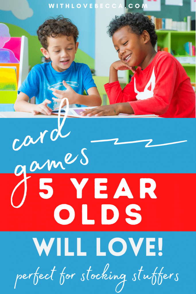 5 Fun Card Games for Kindergarteners (And Adults) Under $15