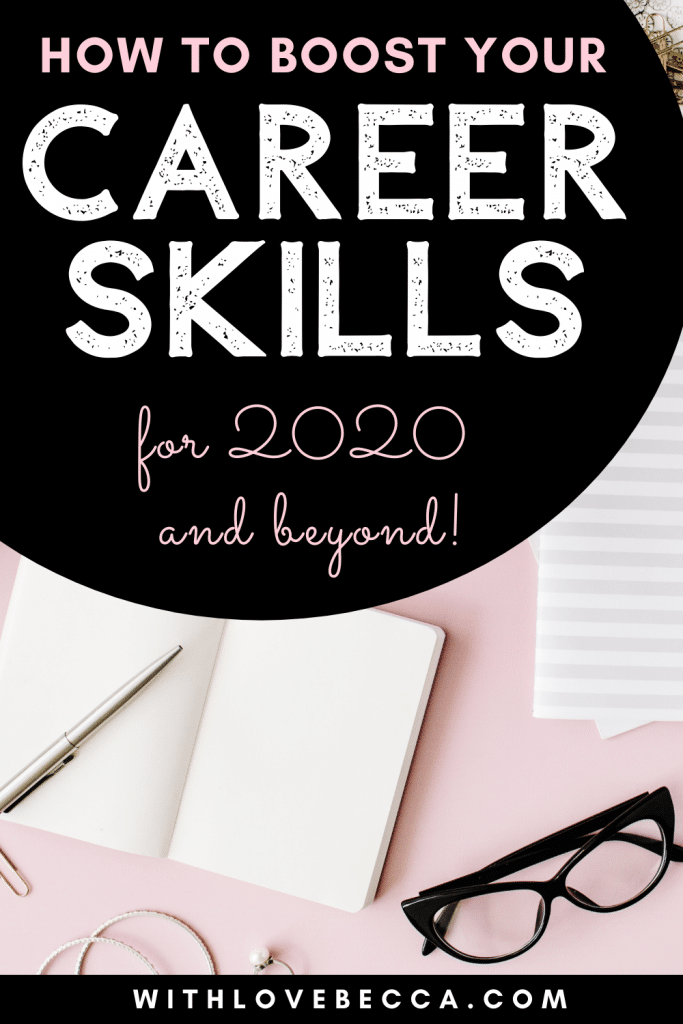 Boost your career skills for 2020 and beyond