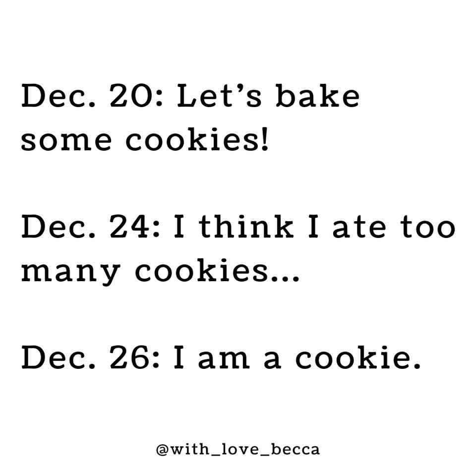 Cookie Christmas Meme