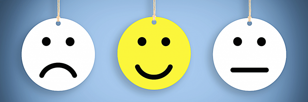 sad face, happy face, neutral face