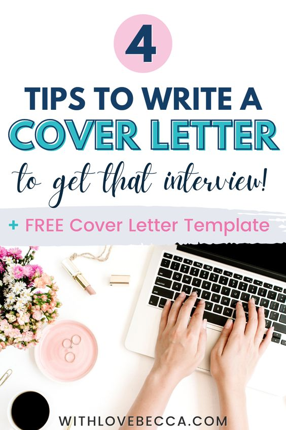 4 tips to write a cover letter to get that interview. Free cover letter template
