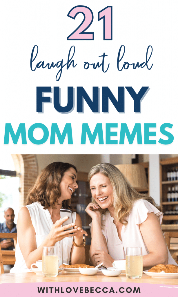21 laugh out loud funny mom memes
