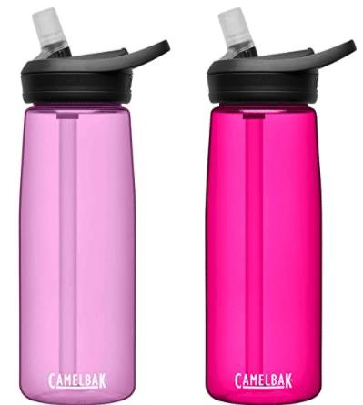 pink camelbak water bottles