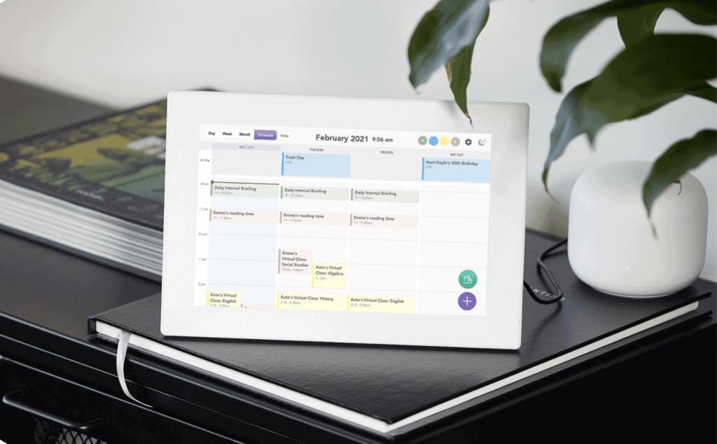 Skylight Calendar - best planners for working moms